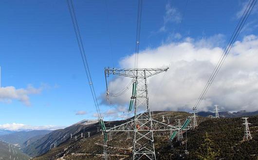 5年来 川藏联网工程向西藏送电15亿千瓦时